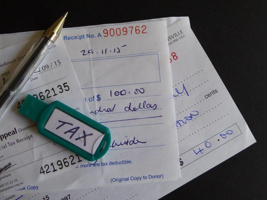 tax, charity, donation