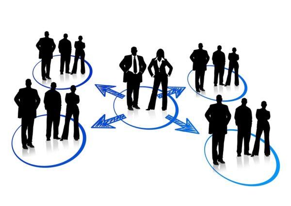 network, businessmen, circuit